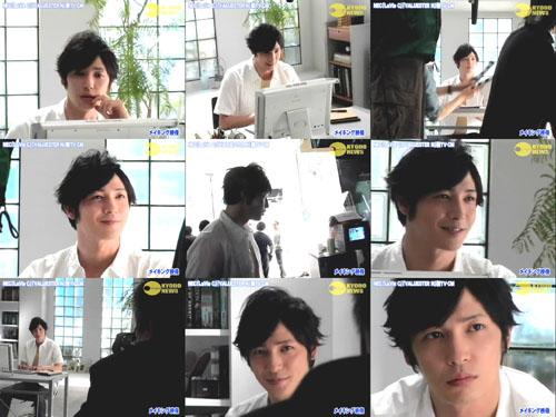 NEC CM 20070418幕後-2