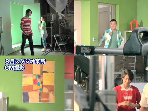 NEC 2007秋季CM making-1