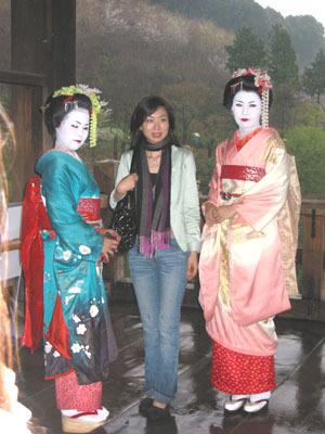 清水寺碰到的藝妓