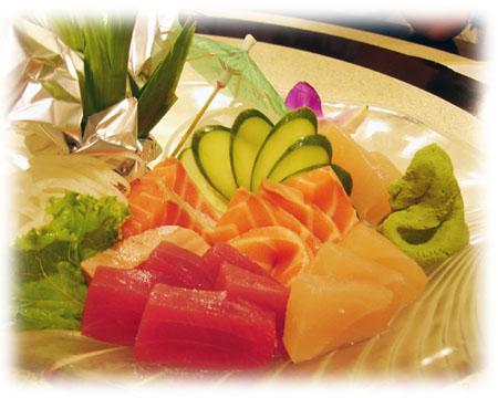慶生-生魚片