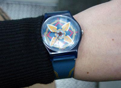 CWTT7台中行-折紙錶
