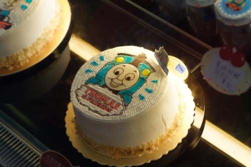 湯瑪士火車蛋糕