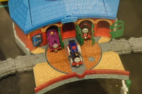再一個火車模型