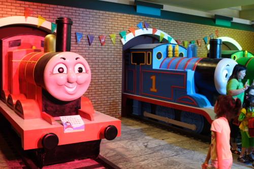 湯瑪士大型火車模型