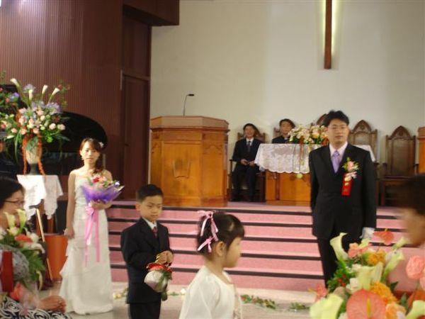 等待美麗的新娘