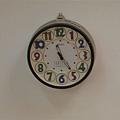 忠治教會裡面的時鐘