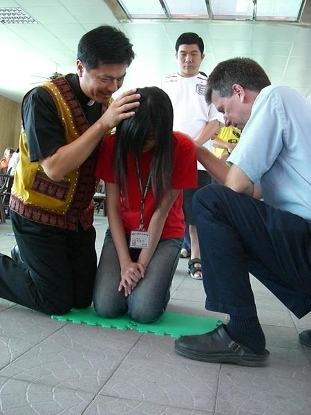 牧師祝福禱告