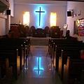 教會內部非常漂亮