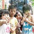 一群可愛的孩子