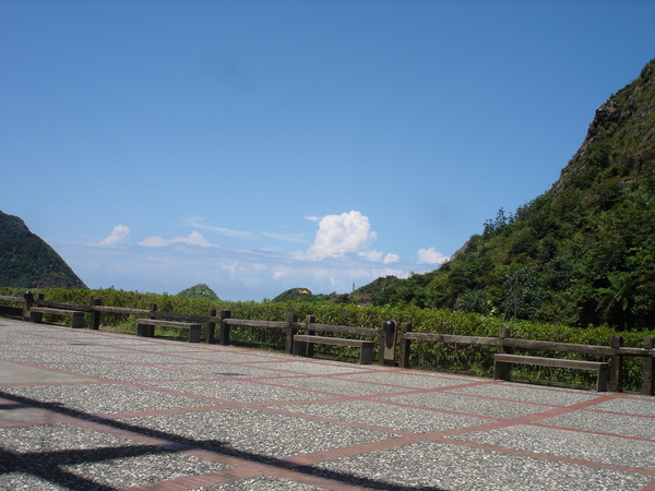 很藍的天空