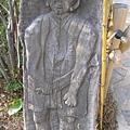 司馬庫斯勇士的木雕