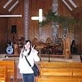 司馬庫斯禮拜堂內部