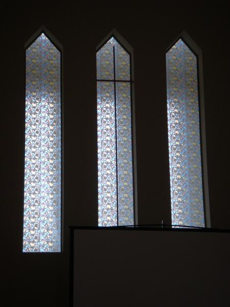 廬山教會的玻璃