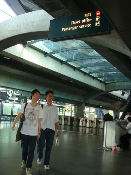 EXPO的捷運站