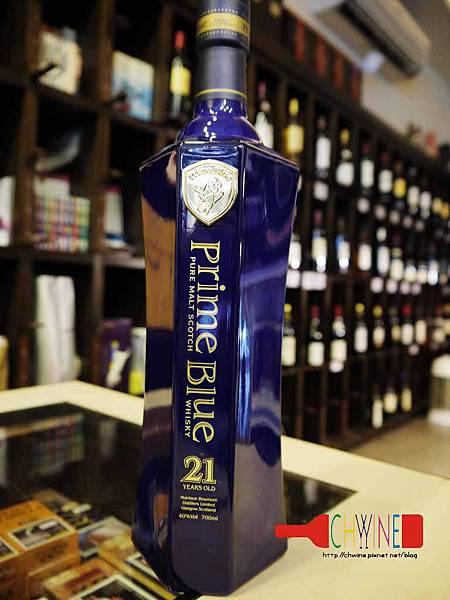 紳藍21年純麥威士忌