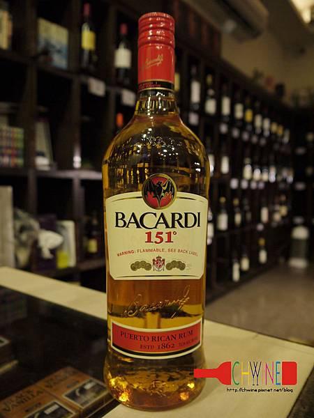 巴卡迪151蘭姆酒