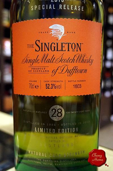 蘇格登THE SINGLETON 28Yo歐版單一純麥威士忌(標)