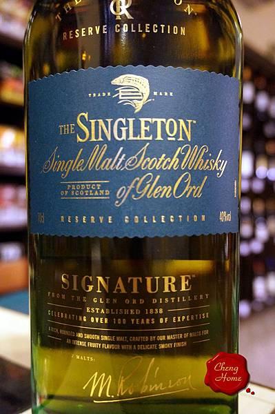 蘇格登THE SINGLETON 大師精選亞版單一純麥威士忌(標)