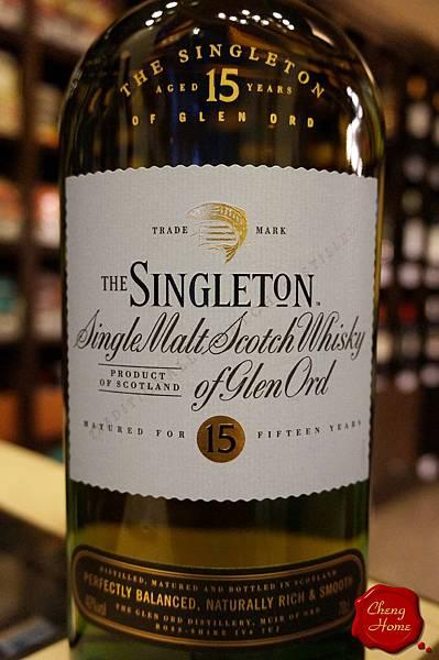 蘇格登THE SINGLETON 15Yo亞版單一純麥威士忌(標)