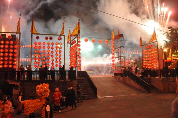 外垵溫王廟慶元宵