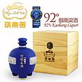 琪樂薇92度醇高粱酒中式白酒藍鼎禮盒 ChyiLehWei 92% ABV Chinese baijiu Kaoliang Liquor