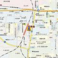 奈良super hotel地圖