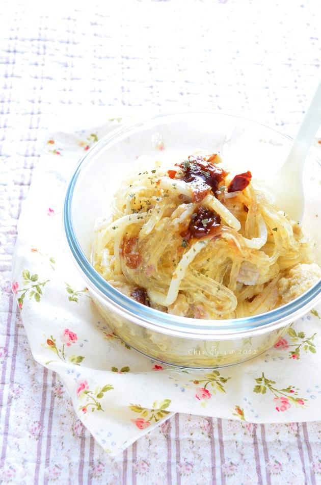 蘿蔔奶酪葛粉麵 (4)