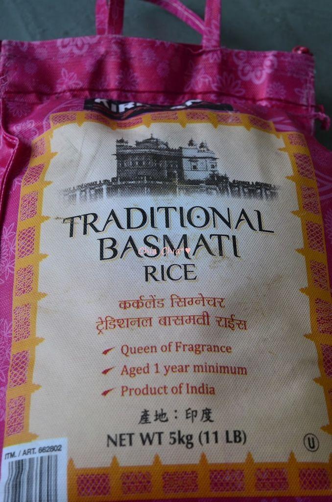 traditional basmati rice巴斯馬蒂傳統印度香米.JPG