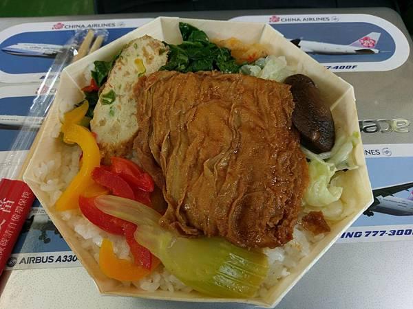 台鐵台中鐵路餐廳80元素食便當