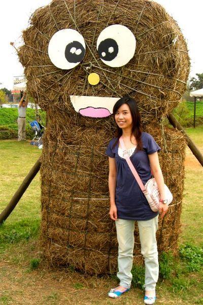 稻草裝置藝術