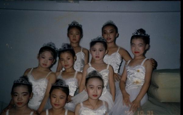 我也是有學過芭蕾舞的好不好!