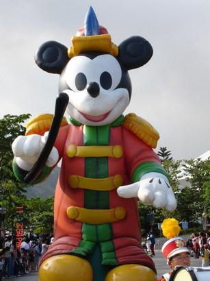 迪士尼遊行的重頭戲