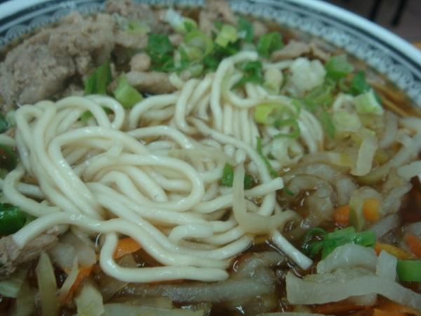 超豐富榨菜肉絲麵2