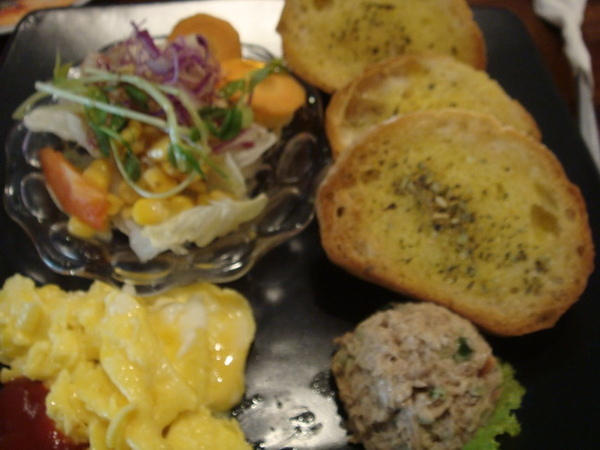 小法國佐鮪魚泥套餐