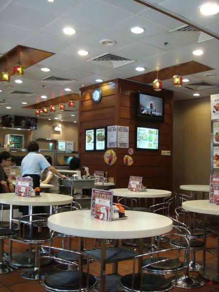 茶餐廳內部