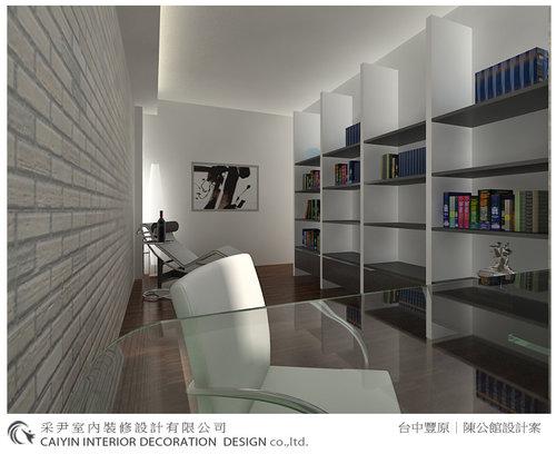 台中室內設計-系統櫃-系統櫃設計-書櫃-朵瓦櫥櫃 (13).jpg
