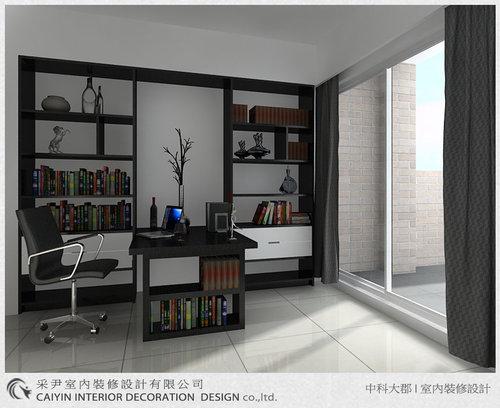 台中室內設計-系統櫃-系統櫃設計-書櫃-朵瓦櫥櫃 (15).jpg