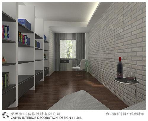 台中室內設計-系統櫃-系統櫃設計-書櫃-朵瓦櫥櫃 (14).jpg