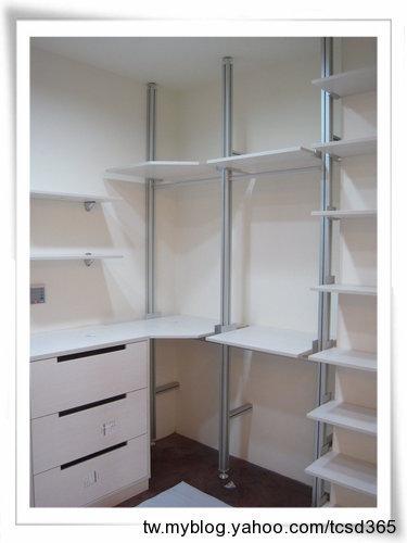 台中室內設計 系統櫃設計 開放式更衣室設計 (1).jpg