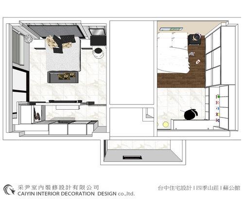 系統櫃設計  客廳設計 餐廳設計  小孩房設計  主臥室設計  更衣室設計5.jpg