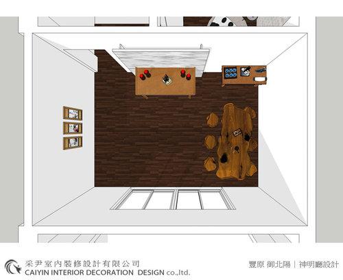 客廳設計、餐廳設計、神明廳設計、孝親房設計、書房設計7.jpg