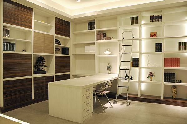 台中系統櫃工廠 書房空間系統櫃.JPG