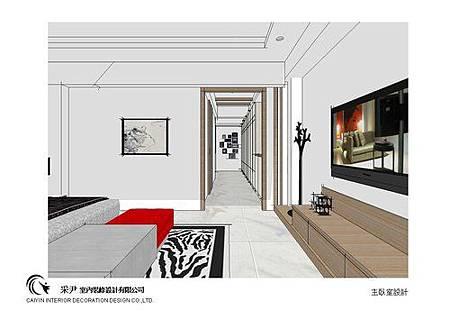 台中系統櫃設計-居家住宅設計-系統家具訂製-書臥室設計