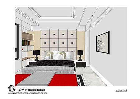 台中系統櫃設計-居家住宅設計-系統家具訂製-書臥室設計 (2)