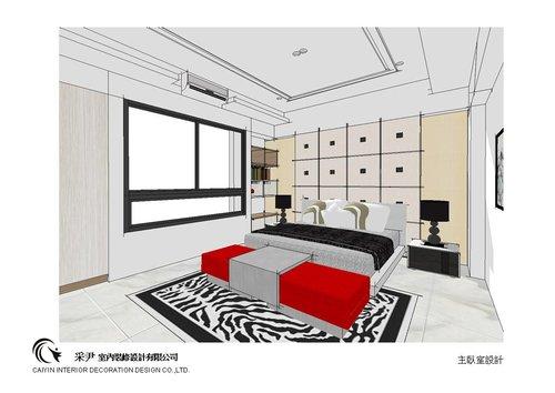 台中系統櫃設計-居家住宅設計-系統家具訂製-書臥室設計 (4)