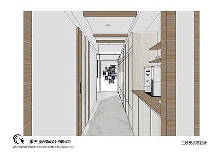 台中系統櫃設計-居家住宅設計-系統家具訂製-書臥室設計 (6)