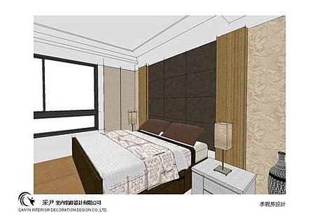 台中系統櫃設計-居家住宅設計-系統家具訂製-書臥室設計 (5)