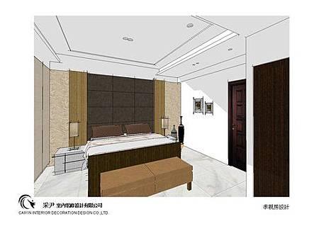 台中系統櫃設計-居家住宅設計-系統家具訂製-書臥室設計 (7)
