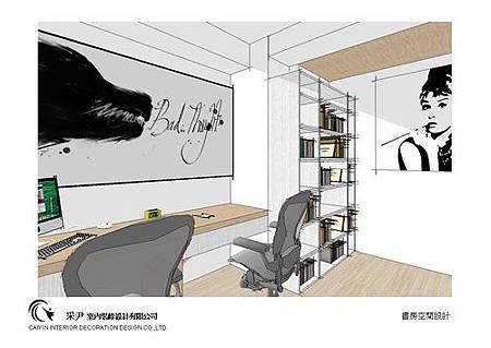 中部系統櫃家具-系統櫃設計-書櫃收納櫃-老屋翻新-居家規劃 (7)