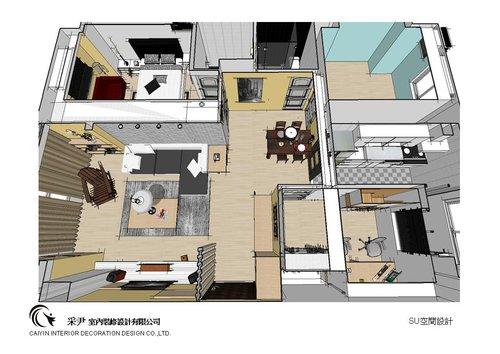 中部系統櫃家具-系統櫃設計-書櫃收納櫃-老屋翻新-居家規劃 (6)